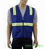 Ladies' Royal Blue Safety Vest Mini-Thumbnail