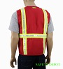 Ladies' Red Safety Vest Mini-Thumbnail