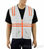 White Safety Vest Mini-Thumbnail