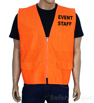 Orange Event Vest MAIN