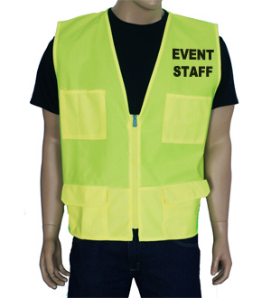 Yellow Event Vest MAIN