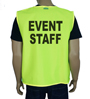 Yellow Event Vest SWATCH