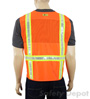 Orange Mesh Safety Vests Mini-Thumbnail