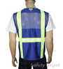 Royal Blue Mesh Safety Vest Mini-Thumbnail