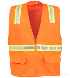 Safety Vest Orange non rated_THUMBNAIL