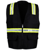 Black Safety Vest SWATCH