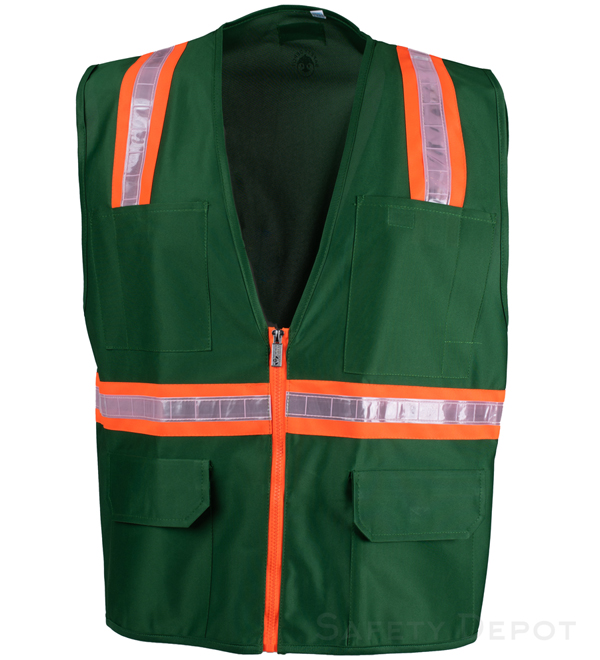 Green Safety Vest MAIN