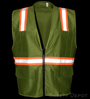 Olive Green Safety Vest Mini-Thumbnail
