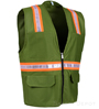 Olive Green Safety Vest SWATCH