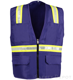 Purple Safety Vest THUMBNAIL