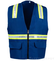 Royal Blue Safety Vest
