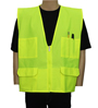 Yellow/Lime Multi-Pocket Vest Mini-Thumbnail