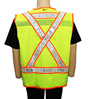 Yellow Lime Reflexite Safety Vest Mini-Thumbnail
