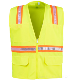 Safety Yellow Safety Vests THUMBNAIL