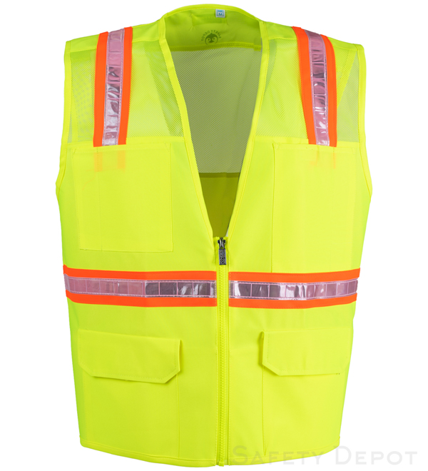 Safety Yellow Safety Vests MAIN