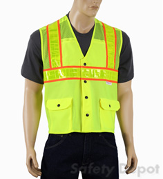Yellow Class 2 Mesh Safety Vest