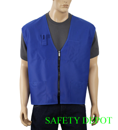 Ladies' Royal Blue Economy Vest