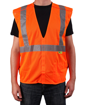 Orange Breakaway Safety Vests