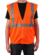 Orange Breakaway Safety Vests Mini-Thumbnail