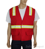 Red Velcro Safety Vest Mini-Thumbnail