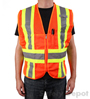 Adjustable Orange Mesh Safety Vest Mini-Thumbnail