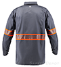 Gray Reflective Long Sleeve Shirt SWATCH