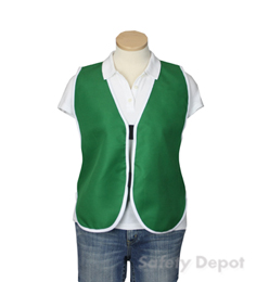 Green Womens' Safety Vest
