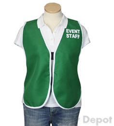 Green Womens' Event Vest THUMBNAIL