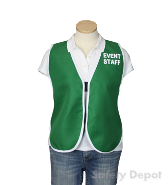 Green Womens' Event Vest MAIN