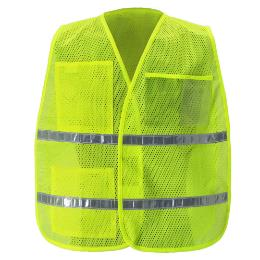 Yellow/Lime Mesh Incident Command Vest THUMBNAIL