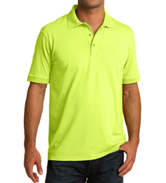 High Visibility Collared Safety Polo Shirt