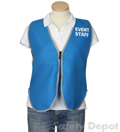 Light Blue Womens' Event Vest THUMBNAIL