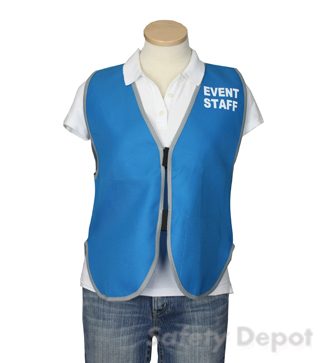 Light Blue Womens' Event Vest