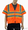 Orange Class 3 Mesh Safety Vest Mini-Thumbnail