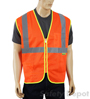 Orange Mesh Reflective safety vest Mini-Thumbnail