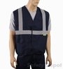 Navy Blue Safety Vest Mini-Thumbnail