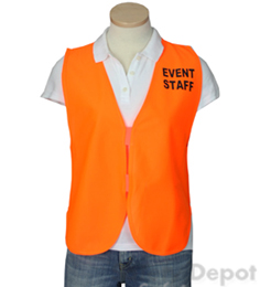 Orange Womens' Event Vest