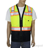 Black Bottom Lime Safety Vest Mini-Thumbnail