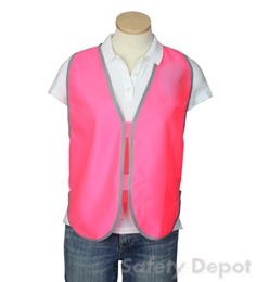Pink Womens' Safety Vest