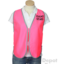 Pink Womens' Event Vest