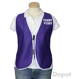 Purple Womens' Event Vest THUMBNAIL