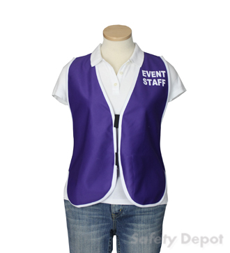 Purple Womens' Event Vest MAIN