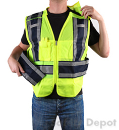 Blue Public Safety Vest