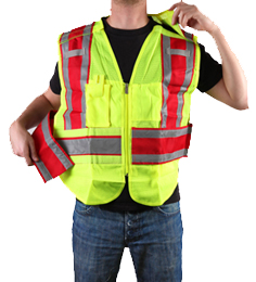 Public Safety Vest PWB503-Red