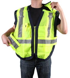 Public Safety Vest PWB505-Blue