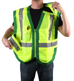Public Safety Vest PWB505-Green