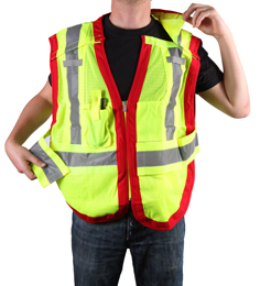 Public Safety Vest PWB505-Red