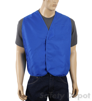 Royal Blue Economy Safety Vest