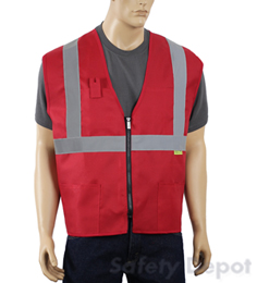 Red Safety Vest