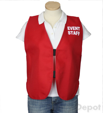 Red Womens' Event Vest